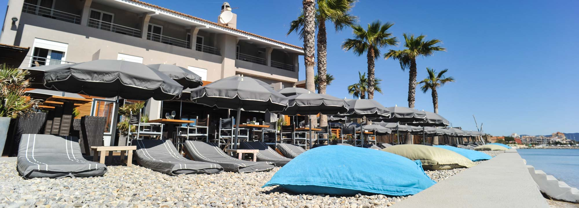 Restaurant plage des pesquiers hy res le midi - Restaurant le marais hyeres ...